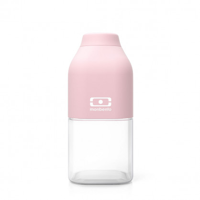 monbento Trinkflasche to-go MB POSITIVE S, 330 ml - litchi rosa - Kunststoff Trinkflasche