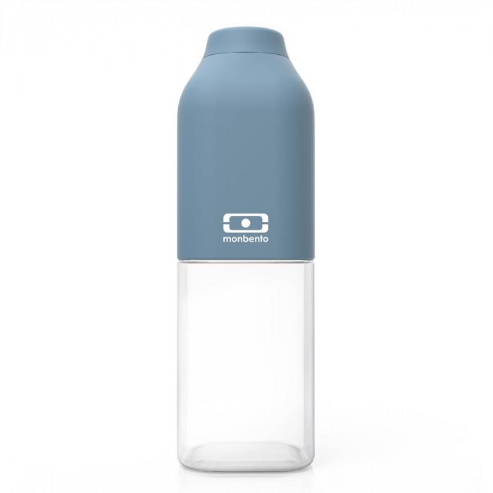 Trinkflasche to-go MB POSITIVE von monbento 0,5 Liter, auslaufsicher, denim blau, Tritan Kunststoff
