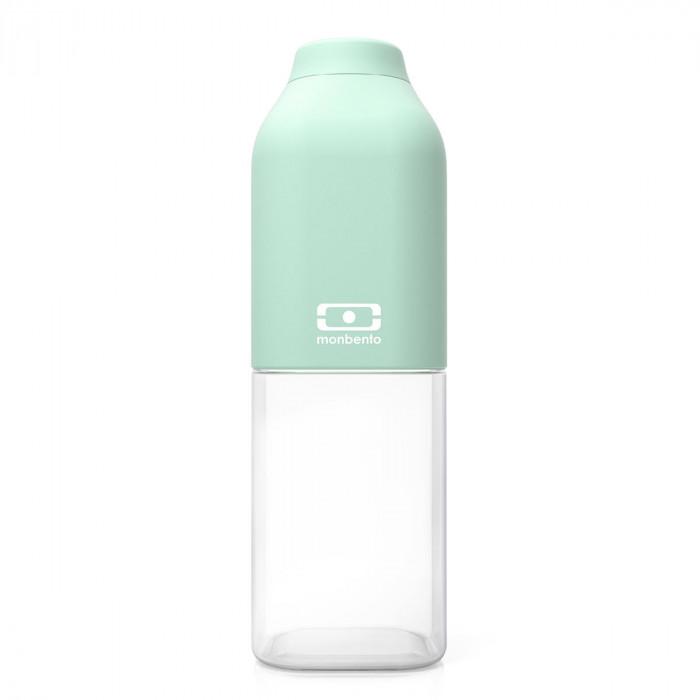 Trinkflasche to-go MB POSITIVE M von monbento, auslaufsicher, matcha, mint, Tritan Kunststoff, 500 ml