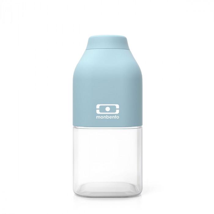 monbento Trinkflasche to-go MB POSITIVE S, 330 ml - Iceberg blau - Kunststoff Trinkflasche - Kindertrinkflasche