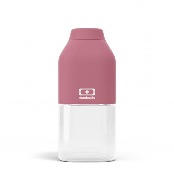 Die monbento Trinkflaschen MB POSITIVE S 0,33 l blush (Beeren rot). Auslaufsichere Kindertrinkflasche - Sporttrinkflasche - ...
