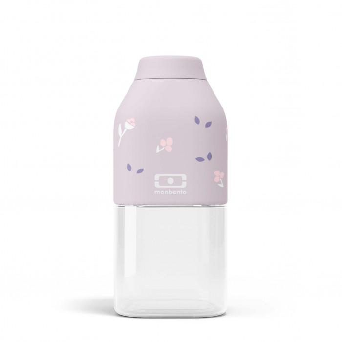 Trinkflasche 0,33 l MB POSITIVE S. Kindertrinkflasche 330 ml flieder / purple Ballet - Kunststoff Trinkflasche: leicht - auslaufsicher - BPA-frei ...