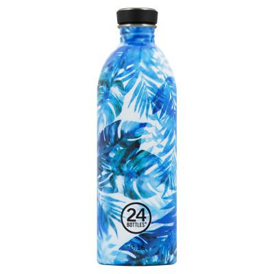 Trinkflasche Edelstahl 1l URBAN Flower - Sonderedition