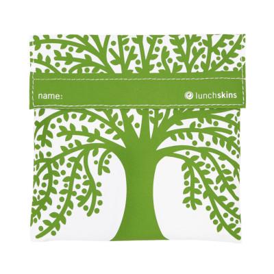 lunchbag - sandwichbag - Brotzeittüte - lunchskins - Modell green Tree