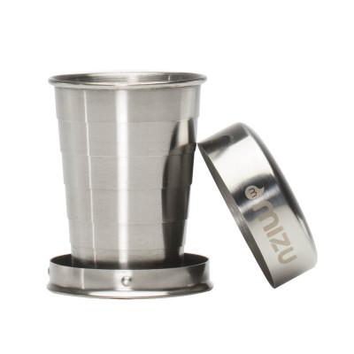 Klappbares Edelstahl Schnapsglas Shot Glas von MIZU Design