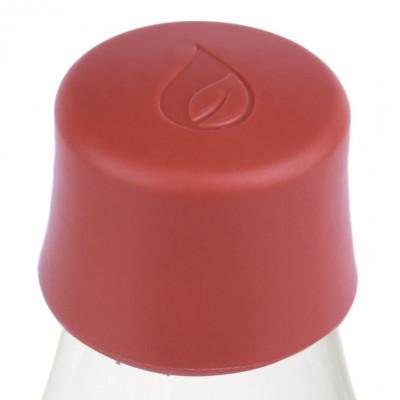 Ersatzdeckel für Glasflaschen von Retap. Deckel in Dusty Red - dunkelrot.