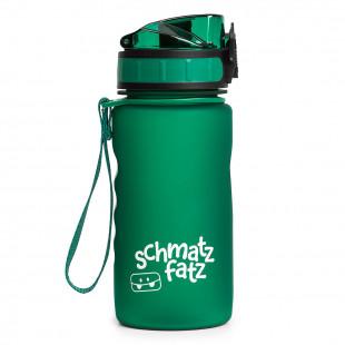 Trinkflasche für Kinder - Kindertrinkflasche 1-Klick von schmatzfatz in dunkelgrün.