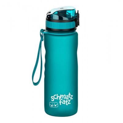 Trinkflasche Kinder auslaufsicher, Klick-Verschluss - 500 ml petrolblau