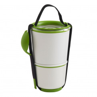 Lunch Pot / Lunchbox mit Gabel - BOX APPETIT - black+blum